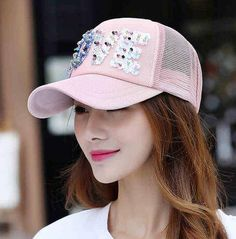 Women New Cap Letter Printed Korean Style Chic Fashion Sun Shading Outdoor Baseball Caps Womens Casual Hats