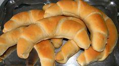 Tejes kifli Hot Dog Buns, Hot Dogs, Bread Dough Recipe, Bread Rolls, Bread Baking, Bread Recipes, Good Food, Cookies, Baking