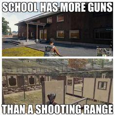 PUBG logic