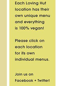 Nation-wide vegan restaurant chain - Loving hut