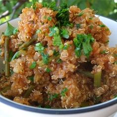 """Spanish-Style Quinoa 