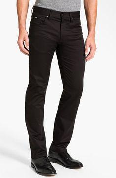 BOSS HUGO BOSS 'Maine Techno' Five Pocket Pants available at #Nordstrom