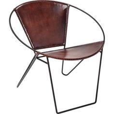 Chair Bucket Brown - KARE Design