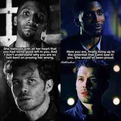 """""""Mi piace"""": 523, commenti: 4 - The Vampire Diaries/Originals (@tvdbadass) su Instagram: """"[The Originals 4x01/4x09] I WAS SHOOK ⠀ Q: Do you like Vincent? ⠀ My edit give credit…"""""""