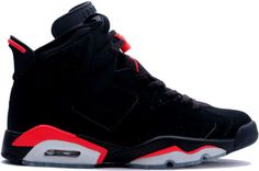 size 40 a4756 0fdd0 Air Jordan 6 (VI) 2000 Retro Black Deep Infra Red When sample pictures of  the Air Jordan 6 Retro Black Deep Infrared.