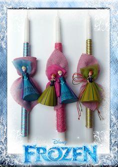 Λαμπάδες Disney Frozen - Elsa & Anna