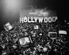 Hollywood: The Age of Nihilism, a multimedia installation by Sanjin Jukic, IFA Galerie, Berlin, 1995 on Anniversary 20th Anniversary, Multimedia, Berlin, Art Photography, Hollywood, Black And White, Artist, Age, Popular