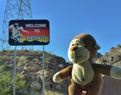 A warm welcome by the entire state of #Nevada as I #travel to @LasVegas. #lasvegas #lucky #adventure #journey #trip