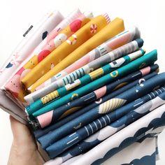 Sunkissed Fabric: Bright and Happy by Lemmoni Silk Wool, Bright, My Favorite Things, Luxury, Happy, Fabric, Vintage, Tejido, Ser Feliz