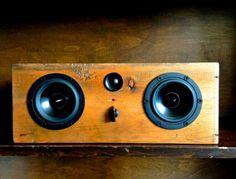 Cool Speaker Boxes bluetooth reclaimed wood speaker    handmade from reclaimed pine