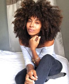 Curly fro. @thatartista