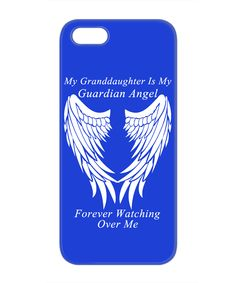 Granddaughter Guardian Angel Phone Case