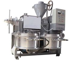 Automatic oil press which  can press over twenty kinds of oil seeds; Easy to operate and maintain.
