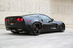Corvette z06 black 2009