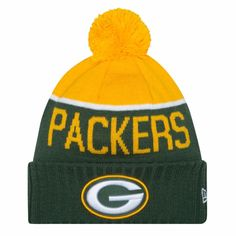 Mens 2015 Green Bay Packers Beanie NFL On Field Sport Knit