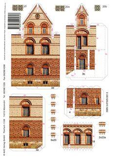 Villa Braun, Metzingen - PaperModelKiosk.com