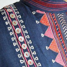 Neckline Designs, Dress Neck Designs, Kurti Neck Designs, Kurta Designs Women, Kurti Designs Party Wear, Blouse Designs, Border Embroidery Designs, Embroidery Suits Design, Hand Embroidery Videos