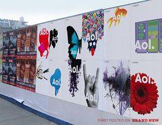 AOL [designers: Wolff Olins]