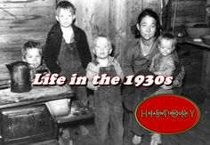 This video explains what daily life was like for families during the Great Depression.