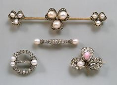 Four pieces of jewelry from the collection of Empress Elisabeth of Austria | | 2 Half of the 19th Century |