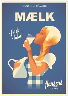 Best icecream, made the oldfashion way Hansens flødeis - Danish ice cream company