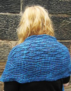 Estuary shawl : Knitty First Fall 2012. A lace project I'm actually excited by!