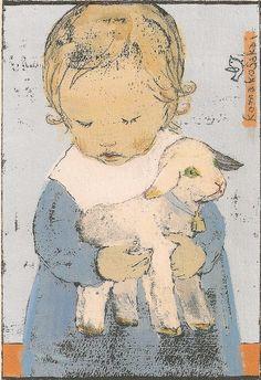 Illustration by Japanese artist/ illustrator Komako Sakai