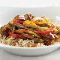 Saucy Sizzle Pepper Steak Recipe
