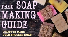 Welcome to our cold process soap making guide. If you're interested in learning how to make nourishing skin-loving soap, you're in the right place. This free guide will walk you through the steps to make your own handmade soap! You don't need a bunch of fancy equipment and you don't need a complex process or