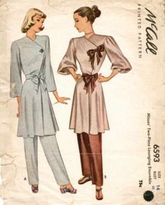 McCall 6593 - Vintage Sewing Patterns - Wikia