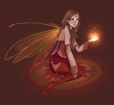 Elfes , Fées et fantaisie. # 4154