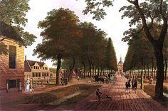 Hendrik Keun - A View of the Plantage Middenlaan, Amsterdam