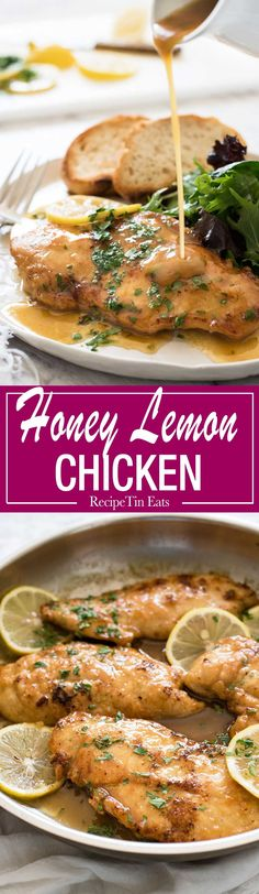 The sauce for this Honey Lemon Chicken is divine!!! This chicken is part of my regular rotation!
