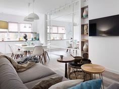 Un casa familiar de diseño en 80 metros