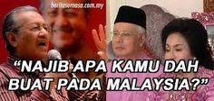 Mereka Yang Pertahankan Najib lah Yang Sekapal Dengan Pembangkang ! | dinturtle - Blogger PARTI MELAYU