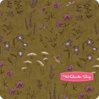 The Potting Shed Fern Earth Flowers Yardage SKU# 6623-13