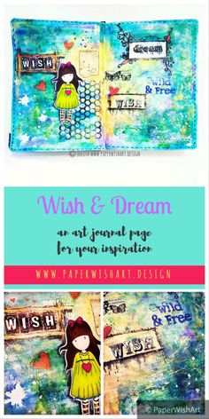 art journalling inspiration for beginners & art journal preview
