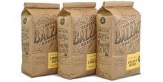 Balzac's Coffee Roasters — Chad Roberts Design, Toronto, Ontario, Canada