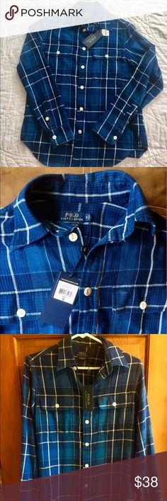 ca674f690b5 RALPH LAUREN POLO NWT - relaxed fit small POLO RALPH LAUREN Woman s Shirt-NWT  -