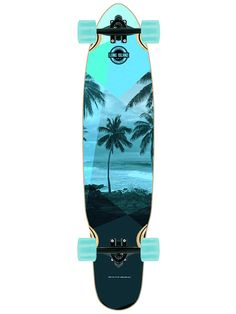 "Long Island Longboards Palm 8.8"" x 38.6"" Complete | #bluetomato #longboard"