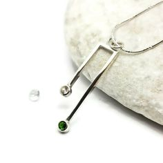 White Sapphire and Russian Diopside combo www.cmfdesigns.co.uk White Sapphire, Design