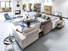 """Time to change! With the sofa """"SEGMENTO""""you can change as much as you want! all the elements are seperately usable."""
