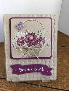 Stampin' Up! Blossoming Basket bundle, basket weave embossing folder