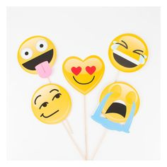 Emoji photobooth kit