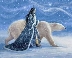 digital glitter e-card pictures woman animal snow - 3D gif animation blogspot free download