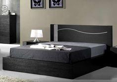 Ver estas fotos en detalle Double Bed Designs, Bedroom Furniture Design, Platform Bed Designs, Bed Designs With Storage, Bedroom Furniture Sets, Home Room Design, Bed Design Modern, Bedroom Bed Design, Modern Bedroom Furniture