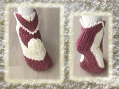 Crochet Slippers, Christmas Stockings, Booty, Knitting, Holiday Decor, Diy, Villas, Fashion, Swag