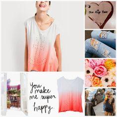 ANCHORUn poquito de color para empezar la semanita... ...con The Hip Tee Feliz Lunes a Tod@s!!! Cheer Me Up, Anchor, T Shirts For Women, Tees, Happy, How To Make, Fashion, Happy Monday, Latest Fashion Trends