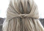 """Knotty & Nice """"up"""" & """"down"""" hairstyle tutorials.    Christmas is almost here, and if you haven't had a holiday party yet, you likely will have one soon.  And after watching these tutorials, you will be set for any kind of holiday party!"""