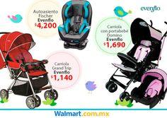 Que tu bebé te acompañe siempre cómodo y seguro. Checa aquí todo lo que tenemos de Evenflo. Walmart.com.mx, Hacemos Clic!